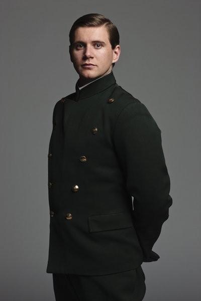 Downton Abbey: Allen Leech in una foto promozionale della serie