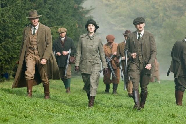 Downton Abbey: Iain Glen e Michelle Dockery nello speciale natalizio 2011