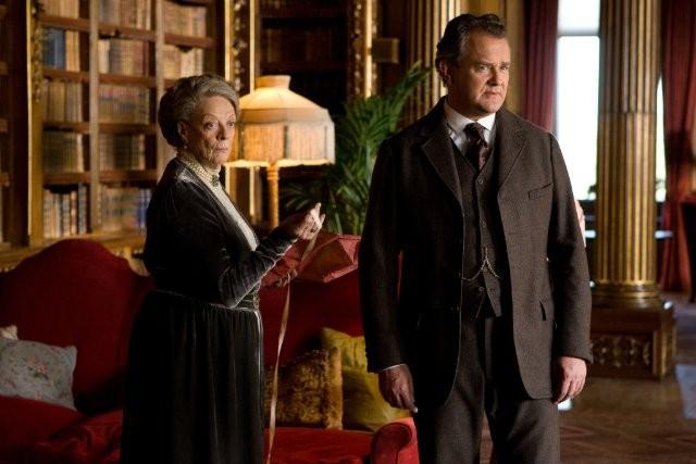 Downton Abbey: Maggie Smith ed Hugh Bonneville nello speciale natalizio 2011