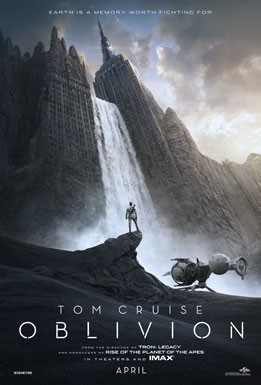 Oblivion: la locandina del film