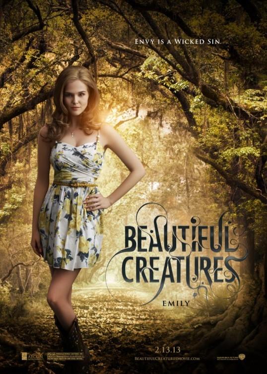 Beautiful Creatures: character poster di Zoey Deutch nei panni di Emily Asher