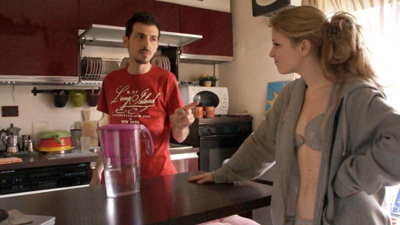 G&T: Francesco D'Alessio e Angela Miriam Ceppone in una scena