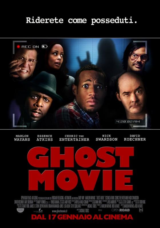 Ghost Movie: la locandina italiana del film