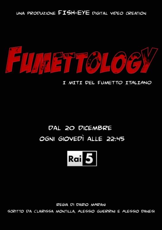 La locandina di Fumettology - I miti del fumetto italiano
