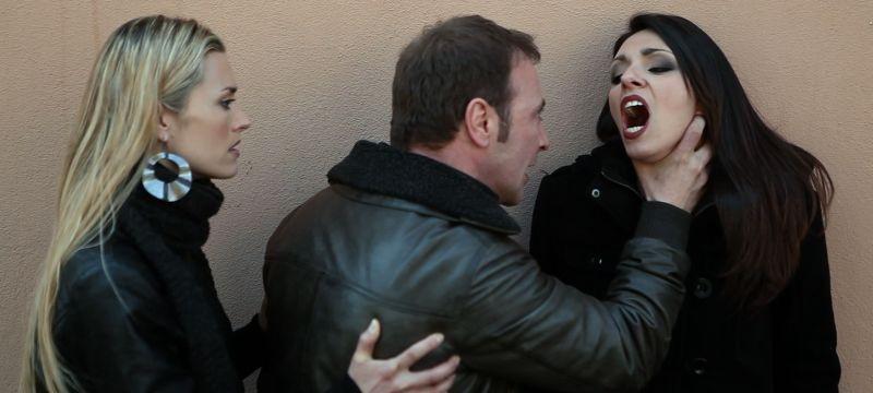 12 12 12: Raf Grande, Federica Ruggero e Kate Kelly in una scena del film