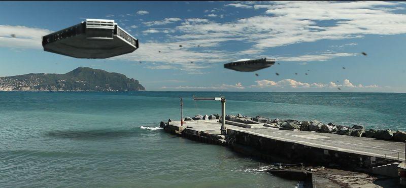 12 12 12: una scena del film di fantascienza italiano diretto da Massimo Morini