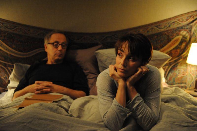 Dans la Maison: Fabrice Luchini e Kristin Scott Thomas in una scena del film
