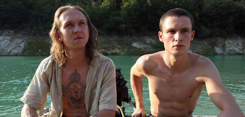 Educazione siberiana: Arnas Fedaravičius e Vilius Tumalavicius in una scena del film