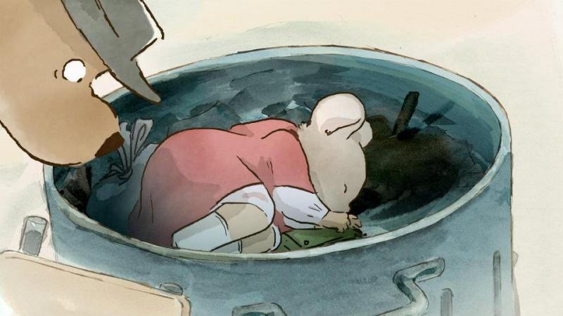 Ernest & Celestine: la piccola topolina in un bidone