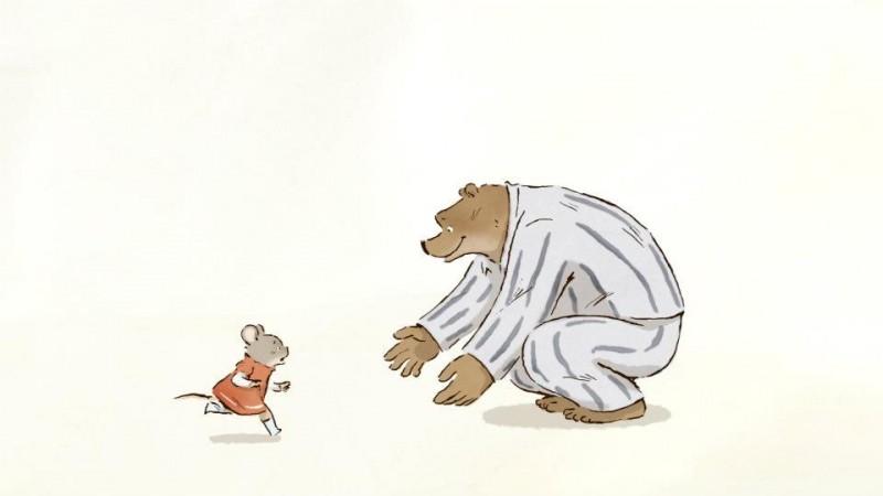 Ernest & Celestine: una immagine tratta dal film d'animazione francese