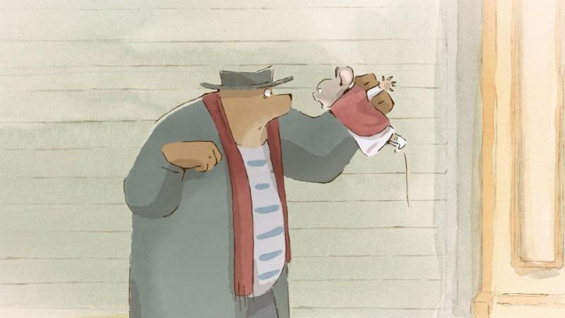 Ernest & Celestine: una scena del film diretto da Stéphane Aubier, Vincent Patar, Benjamin Renner