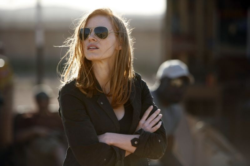Operazione Zero Dark Thirty: Jessica Chastain in una scena del film