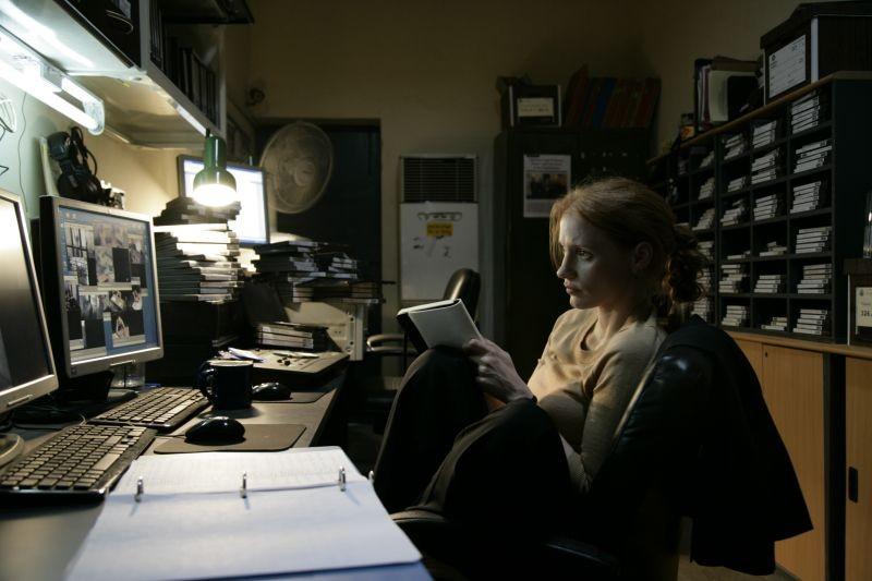 Operazione Zero Dark Thirty: Jessica Chastain in una scena tratta dal film