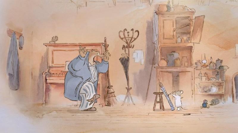una scena del film Ernest & Celestine