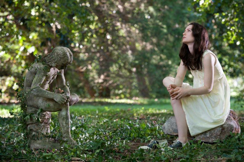Stoker: Mia Wasikowska in una scena del film