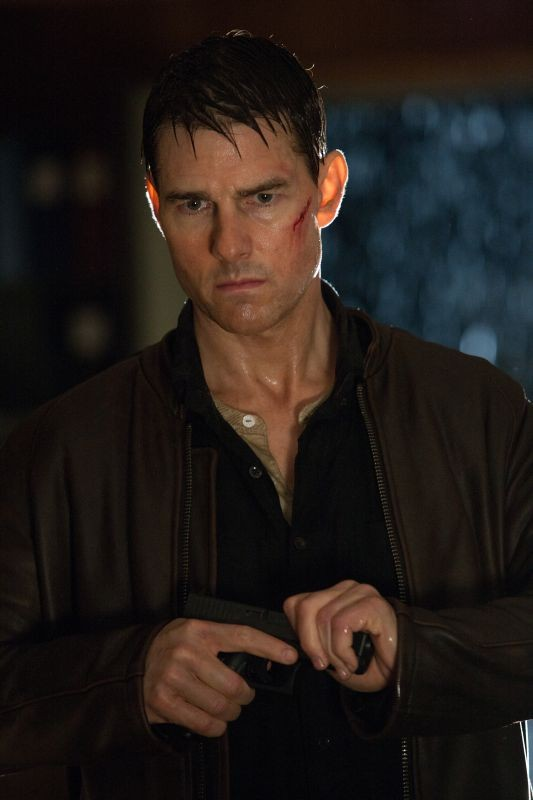 Jack Reacher: Tom Cruise in una scena
