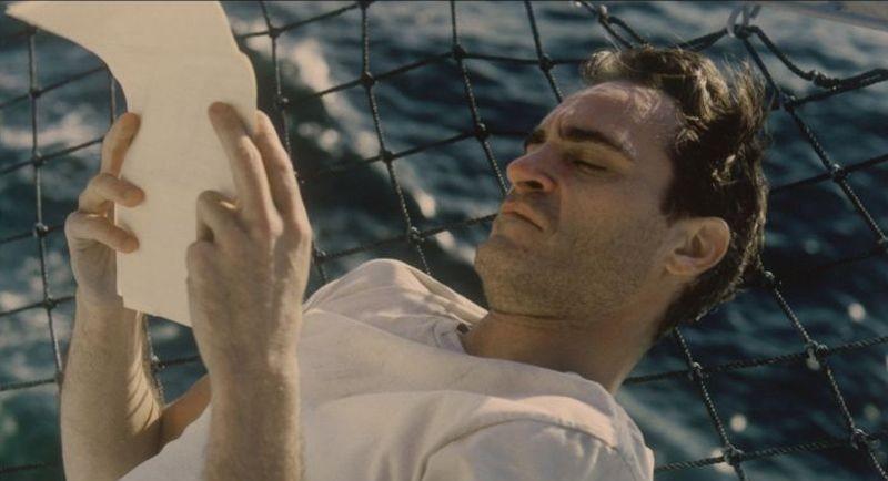 The Master: una poetica immagine di Joaquin Phoenix tratta dal film