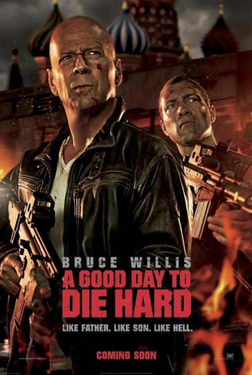 A Good Day To Die Hard: nuovo poster UK