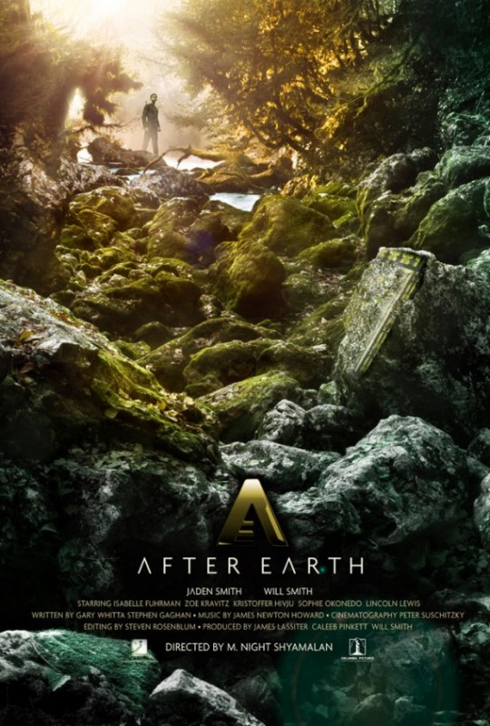After Earth: la locandina del film