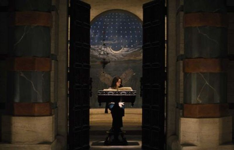 Alice Englert in una scena di Beautiful Creatures - La sedicesima luna