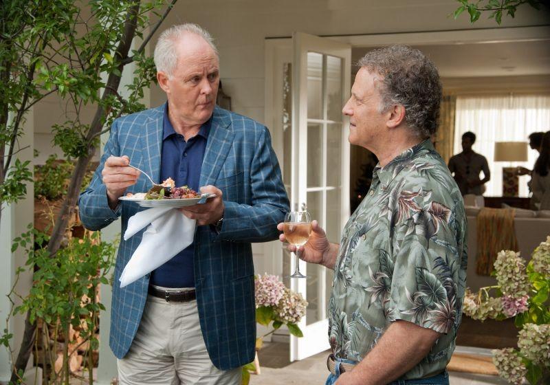 John Lithgow e Albert Brooks in una scena di Questi sono i 40