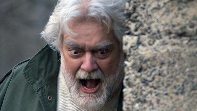 Non aprite quella porta 3D: Gunnar Hansen in un'immagine tratta dal film