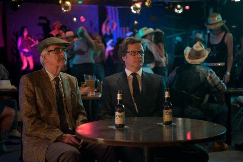 Tom Courtenay e Colin Firth in Gambit