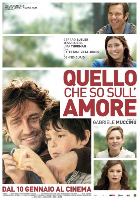 Quello che so sull'amore: la locandina italiana
