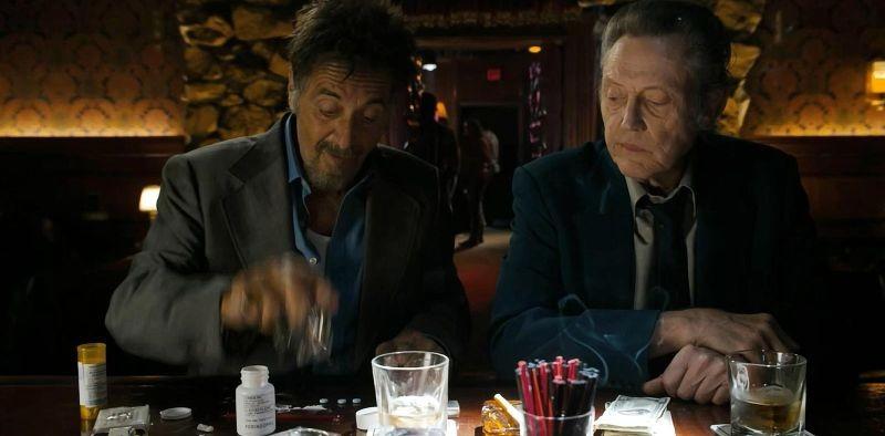 Stand Up Guys: Al Pacino e Christopher Walken in una scena