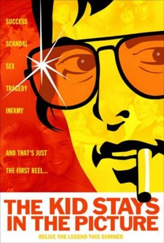 The Kid Stays in the Picture: la locandina del film