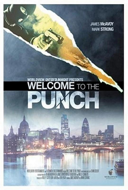 Welcome to the Punch: la locandina del film