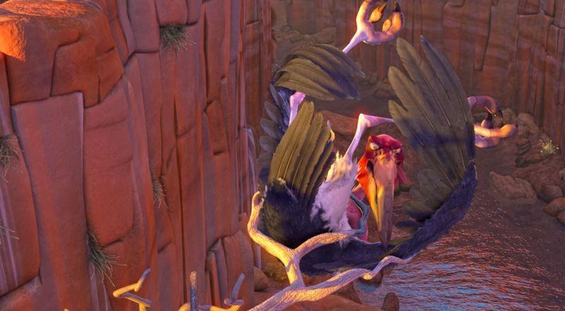Zambezia: Cyril in una scena del film animato disponibile anche in 3D