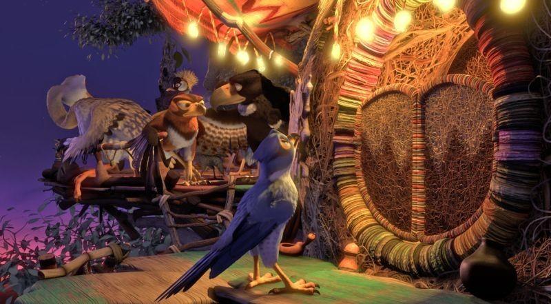Zambezia: il giovane Kai in una scena del film d'animazione