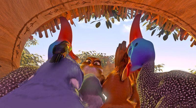 Zambezia: una scena tratta dal film di animazione diretto da Wayne Thornley