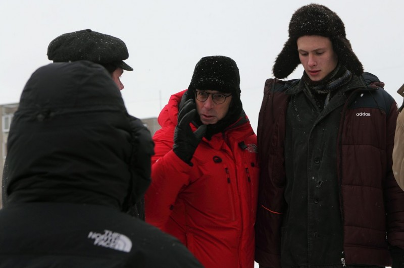 Educazione Siberiana: il regista Gabriele Salvatores sul set del film