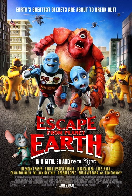 Escape from Planet Earth: nuovo poster