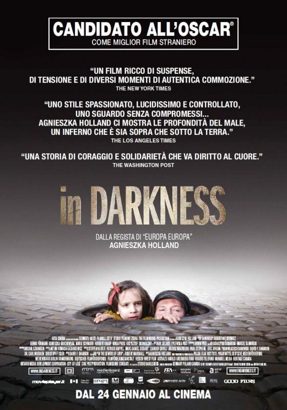 In Darkness: la locandina italiana del film