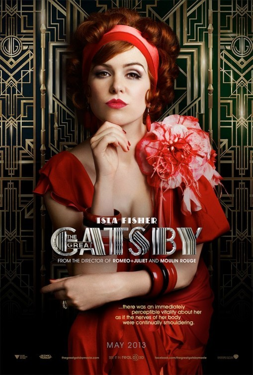 The Great Gatsby: Character Poster per Isla Fisher
