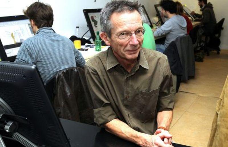 La bottega dei suicidi: il regista Patrice Leconte sul set del film d'animazione