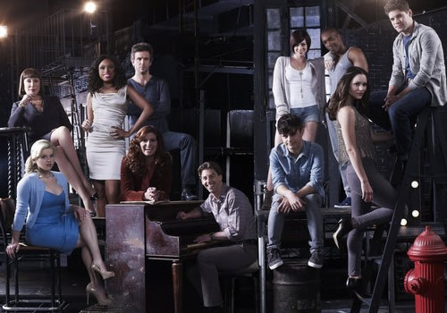 Smash: un'immagine promozionale del cast per la seconda stagione della serie