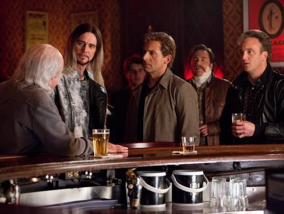 Steve Carell e Jim Carrey in una scena di Burt Wonderstone