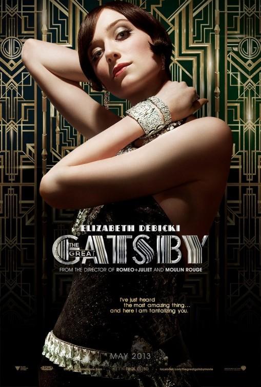The Great Gatsby: Character Poster per Elizabeth Debicki