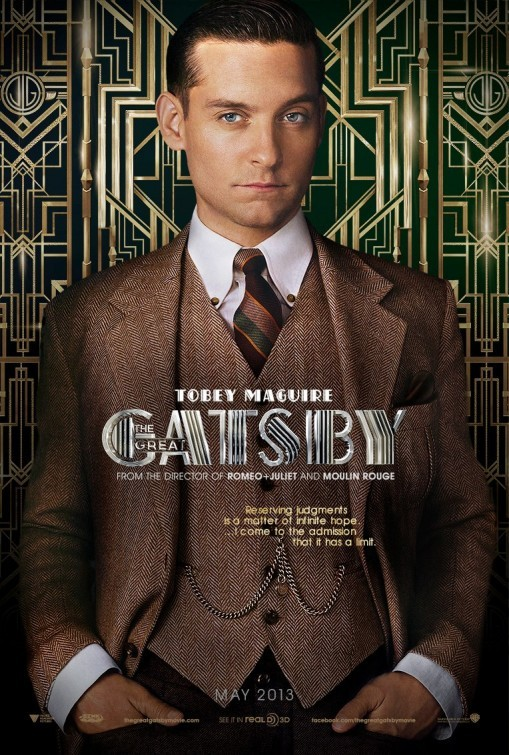 The Great Gatsby: Character Poster per Tobey Maguire