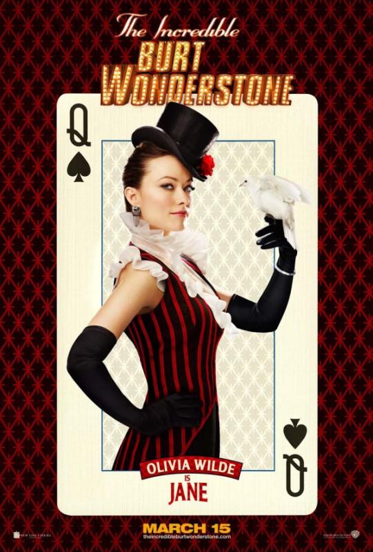 Burt Wonderstone: character poster di Olivia Wilde