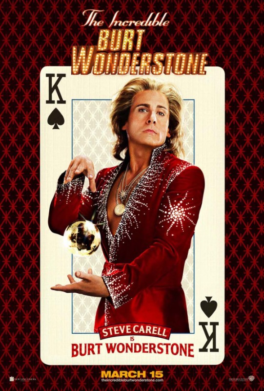 Burt Wonderstone: character poster di Steve Carell