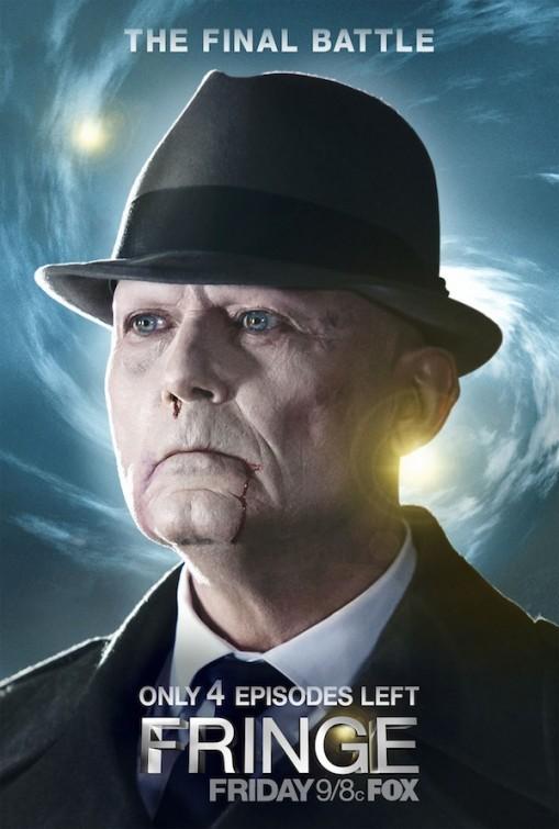 Fringe: un poster della quinta ed ultima stagione realizzato a quattro episodi dal termine della serie