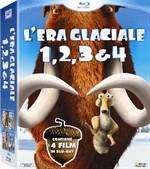 La copertina di L'era glaciale 1, 2, 3 & 4 (blu-ray)