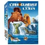 La copertina di L'era glaciale 1, 2, 3 & 4 (dvd)