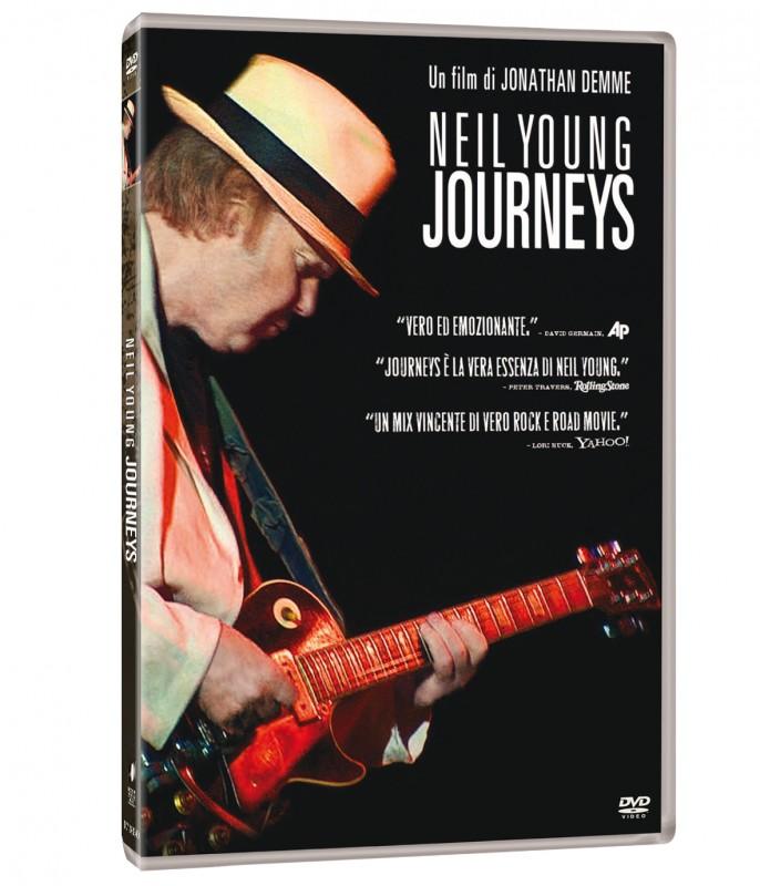 La copertina di Neil Young Journeys (dvd)
