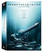 La copertina di Prometheus to Alien (blu-ray)